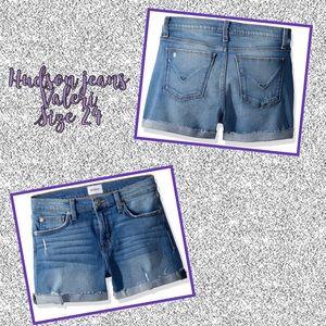 NWT Hudson Jeans Valeri shorts